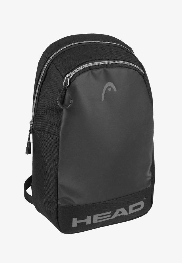 MIT VERSTELLBAREM UMHÄNGERIEMEN - Across body bag - black
