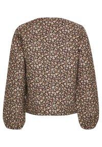 Kaffe - Light jacket - multi pink flower - 5