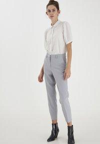 ICHI - IHASILO - Button-down blouse - alloy - 1