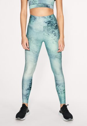 KEIRA  - Leggings - green space dyed