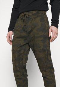 Brave Soul - HADDONBIKER - Cargo trousers - khaki - 4