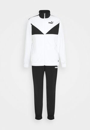 2 PIECE SET - Tracksuit - white