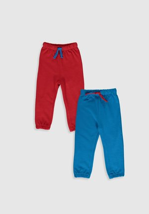 2 PACK - Tracksuit bottoms - red