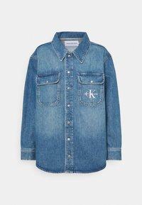 Calvin Klein Jeans - OVERSHIRT - Skjorte - blue - 5