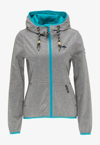 Schmuddelwedda - Outdoor jacket - grey melange - 4