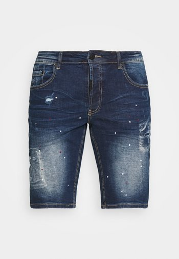 ROSSI  - Jeansshorts - indigo