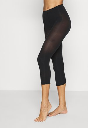 EASE - Leggings - Stockings - black