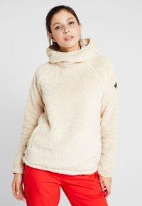 Burton - LYNX HOOD - Fleece jumper - creme brulee - 0