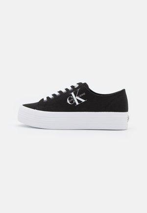 FLATFORM LACEUP - Sneakers - black
