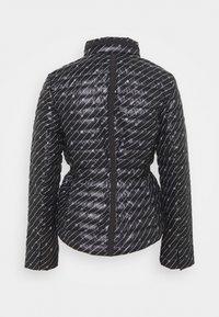MICHAEL Michael Kors - BELTED PUFFR - Down jacket - black/white - 10