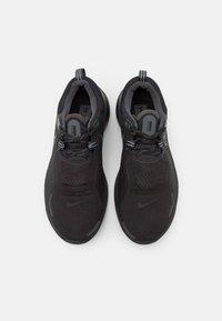 Nike Performance - REACT MILER SHIELD - Juoksukenkä/neutraalit - black/anthracite - 3