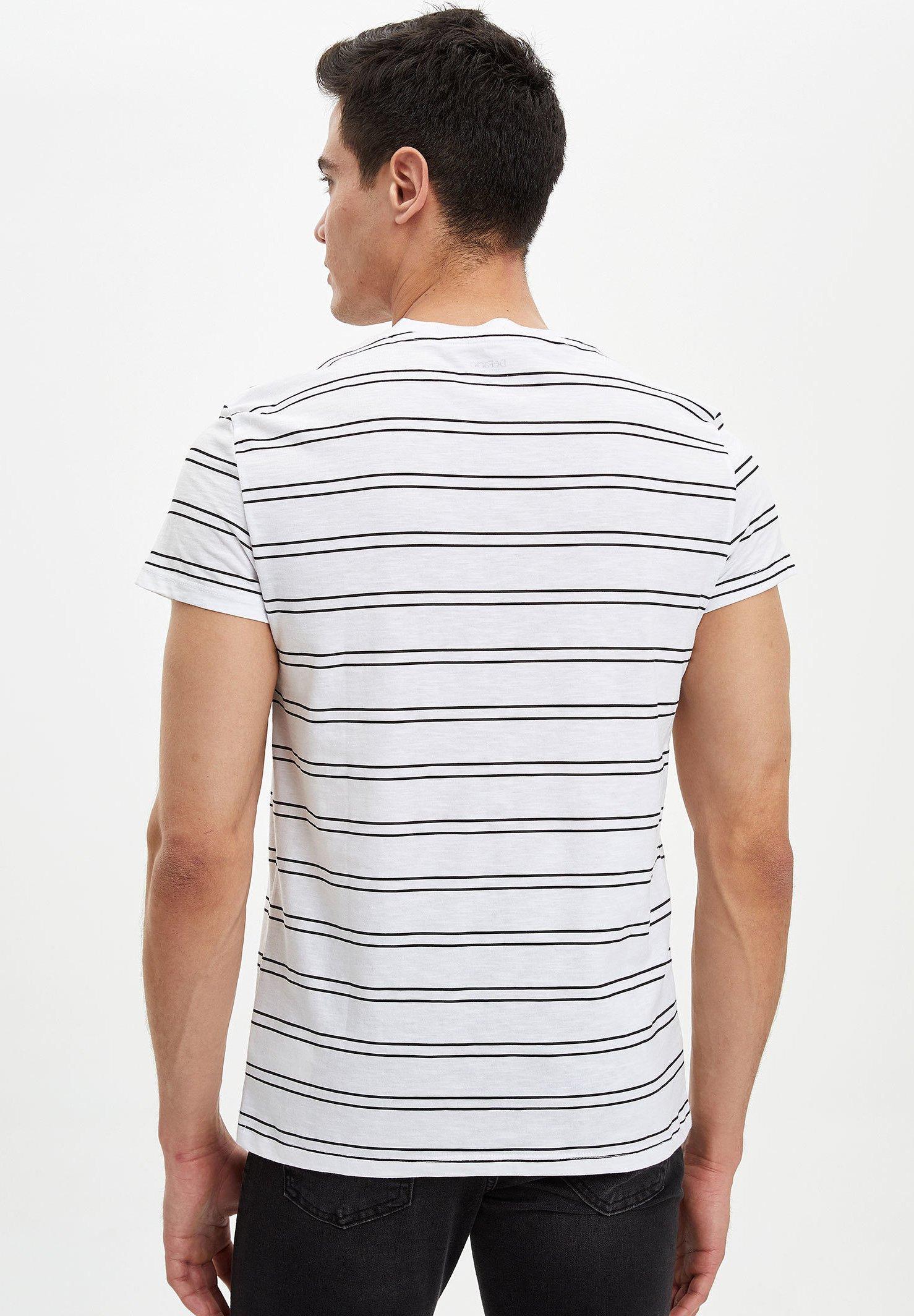DeFacto Print T-shirt - white Tgdve
