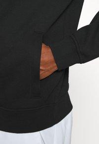 Lacoste Sport - CLASSIC HOODIE - Hoodie - black - 4