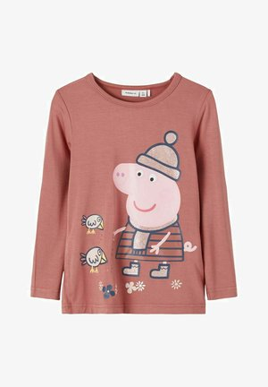 PEPPA PIG - Long sleeved top - withered rose