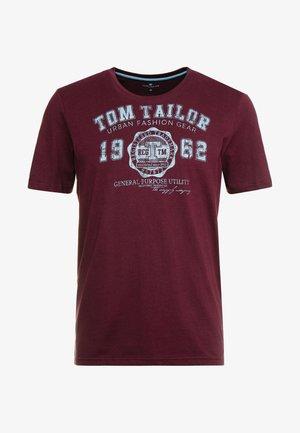 LOGO TEE - T-shirt z nadrukiem - purple