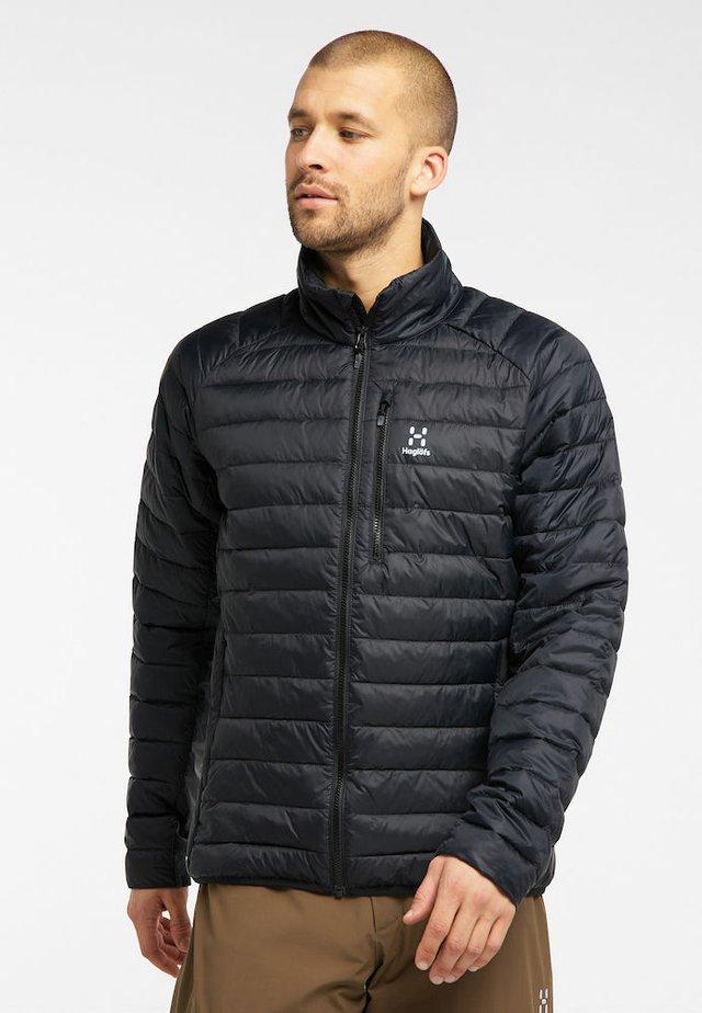 STEPPJACKE SPIRE MIMIC JACKET MEN - Winter jacket - true black