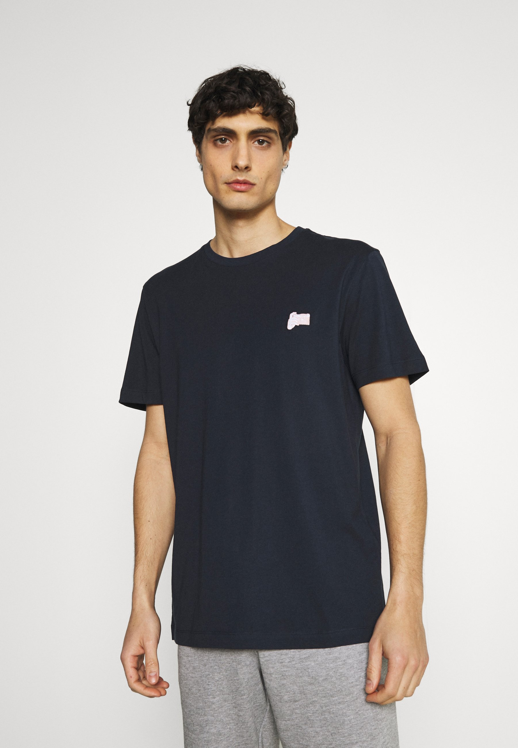 Men SLHJUDE O NECK TEE - Basic T-shirt