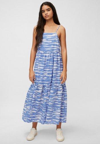 Maxi dress - multi/intense blue