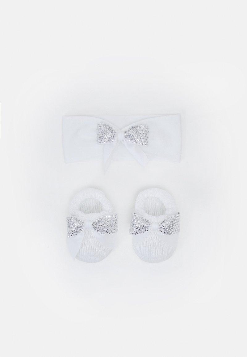 La Perla - BABY PACK FIOCCO PREOLA SET - Ear warmers - bianco