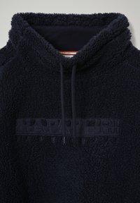 Napapijri - TEIDE - Fleece jumper - blu marine - 3