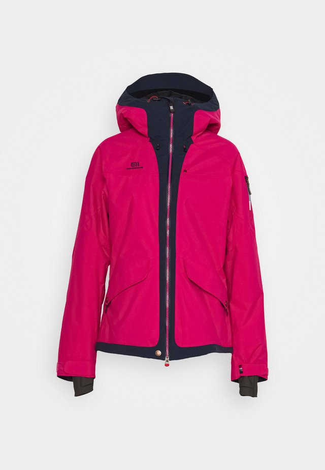 WOMENS BREVENT JACKET - Skijakker - pink