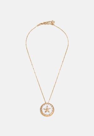 ROUND STAR NECKLACE SMALTO - Smykke - gold-coloured/bianco