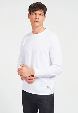 Long sleeved top - blanc