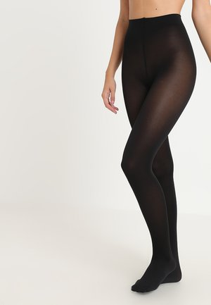 SEIDENGLATT 80 DEN - Collants - black