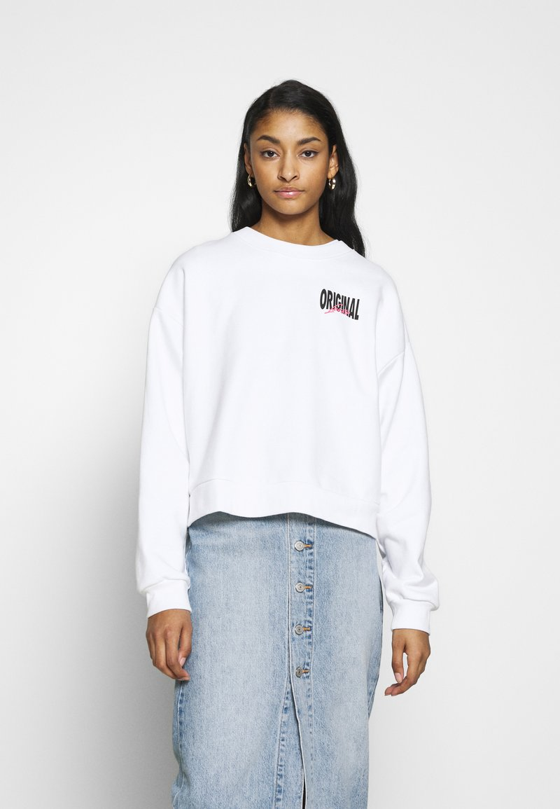 Levi's® - GRAPHIC DIANA CREW - Bluza - original white