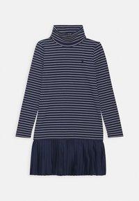 Polo Ralph Lauren - TURTLENECK DRESSES - Jersey dress - french navy - 0