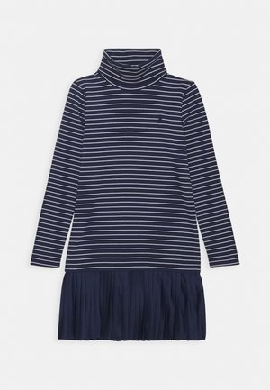 TURTLENECK DRESSES - Žerzejové šaty - french navy