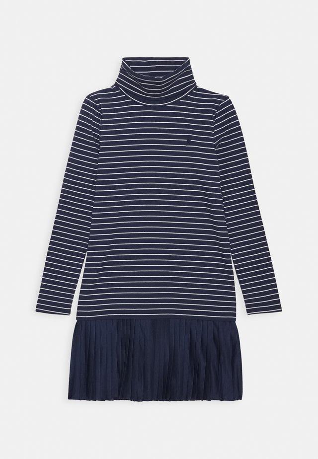 TURTLENECK DRESSES - Jerseykleid - french navy