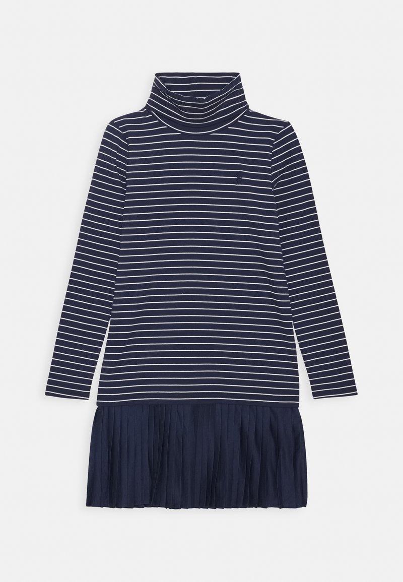 Polo Ralph Lauren - TURTLENECK DRESSES - Jersey dress - french navy