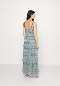 Maya Deluxe - ALL OVER EMBELLISHED MAXI WITH TIERS - Occasion wear - grey - 2