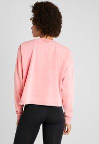 Cotton On Body - TIE HEM CREW  - Sweatshirt - cameo pink wash - 2