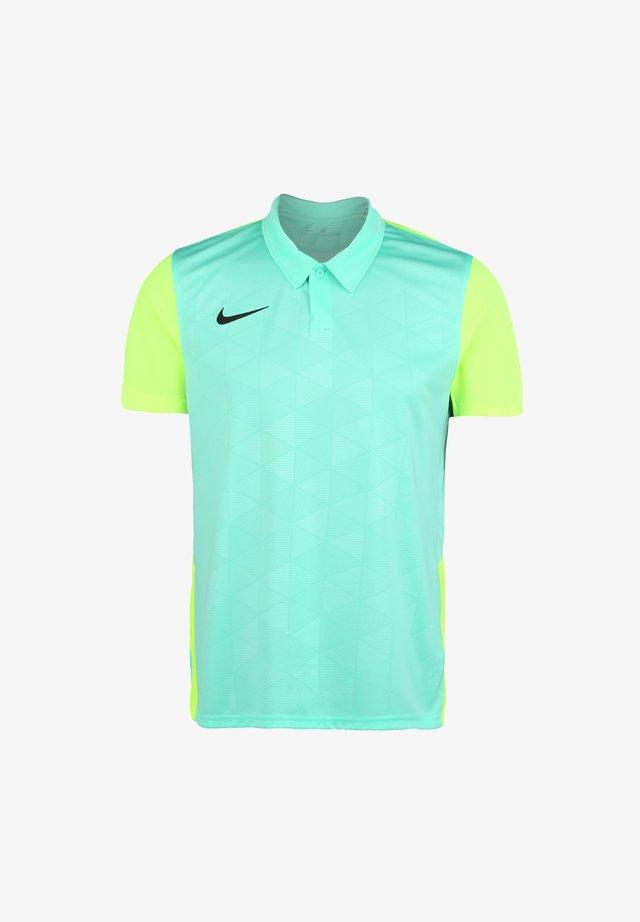 T-shirt de sport - hyper turquoise / volt / black