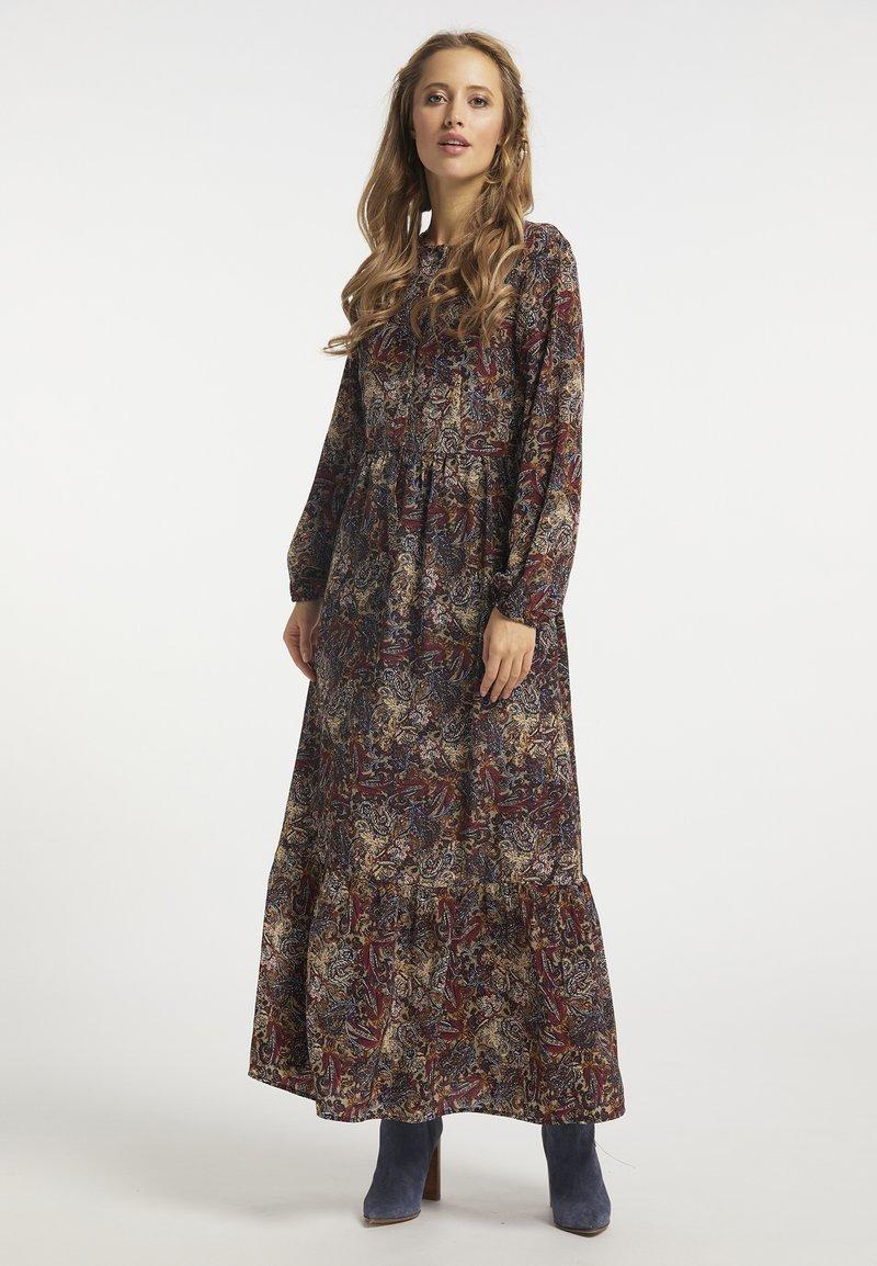 usha - Maxi dress - oliv