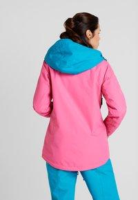 Wearcolour - CAKE JACKET - Snowboardjakke - post it pink - 2