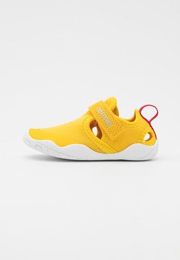 RANTAAN UNISEX - Walking sandals - yellow