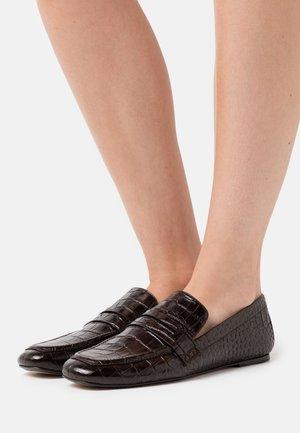 Nazouvací boty - cioccolato