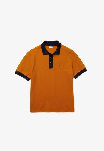 MC HOMME - Polo shirt - orange / navy blau