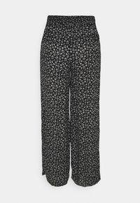 Hollister Co. - BEACHY WIDE LEG PANT - Trousers - black - 1