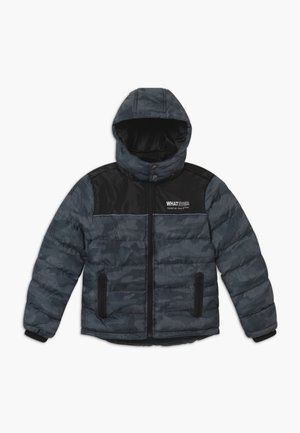 TEENS COLOURBLOCK - Winter jacket - schwarz