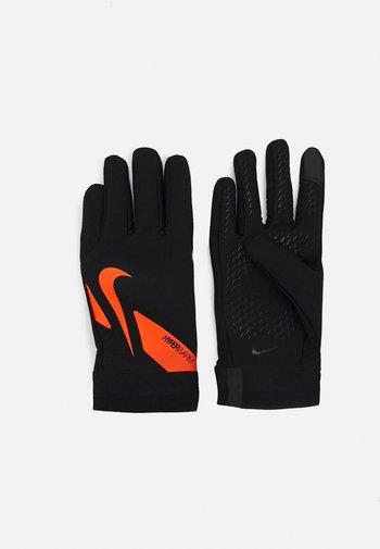 HYPERWARM ACADEMY UNISEX - Gloves - black/total orange