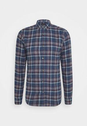 ONSBOBBY WASHED CHECK - Košile - dress blues