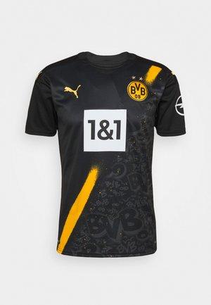 BVB BORUSSIA DORTMUND AWAY SHIRT REPLICA SPONSOR LOGO - Club wear - black