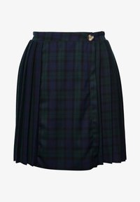 Superdry - Pleated skirt - navy check - 2