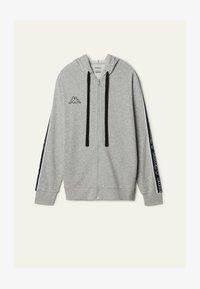 Tezenis - MIT KAPPA KAPUZE - Zip-up hoodie - grigio melange chiar - 4