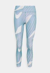 Nike Performance - FAST 7/8 RUNWAY - Tights - cerulean/silver - 4