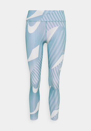 FAST 7/8 RUNWAY - Collants - cerulean/silver